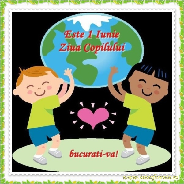 Pe 1 iunie 2015 sarbatorim ziua copilului