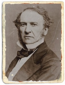 Politicianul William Ewart Gladstone