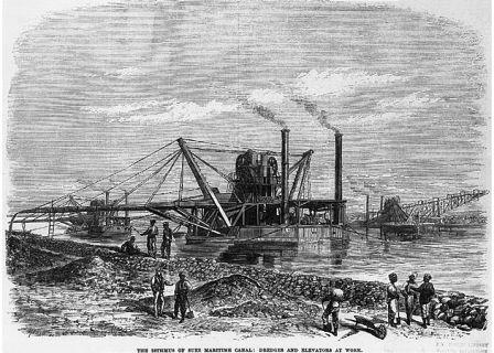 Canalul Suez constructie si istoric