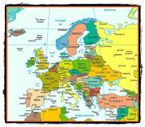 Europa Asezare Margini Si Tarmuri