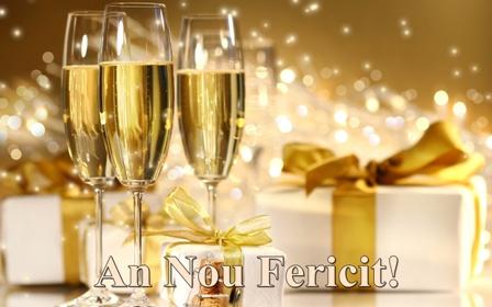 Felicitare de Revelion si Anul Nou