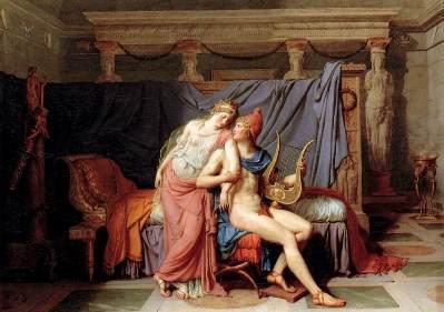 Povestea de dragoste dintre Paris si Elena