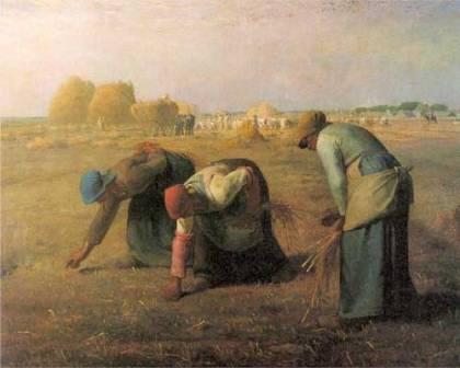 Culegatoarele de spice pictura Millet