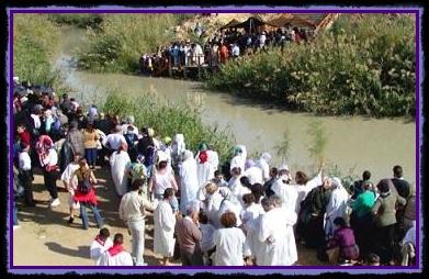 Minunea intoarcerii raului Iordan in ziua de Boboteaza