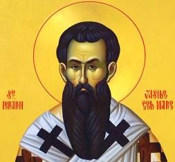 1 ianuarie ziua Sfantului Vasile