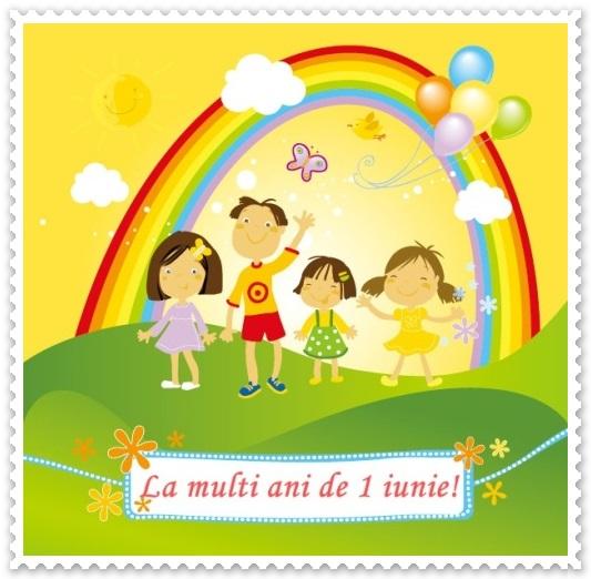 la multi ani de ziua copilului felicitare