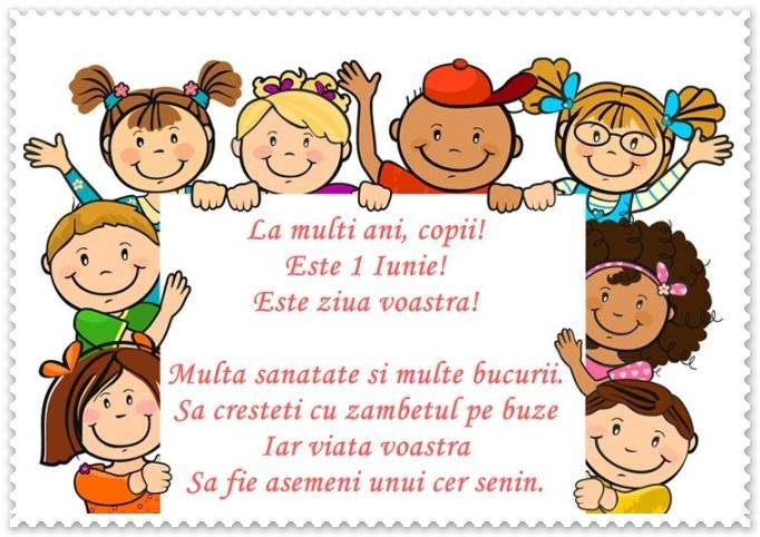La multi ani de Ziua Copilului mesaje si felicitari