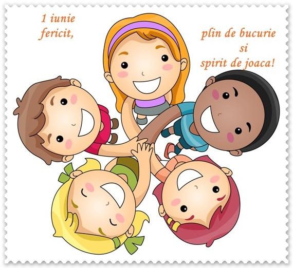 zambet de copil 1 iunie