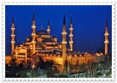 Moscheea Albastra din Istanbul Turcia istoric