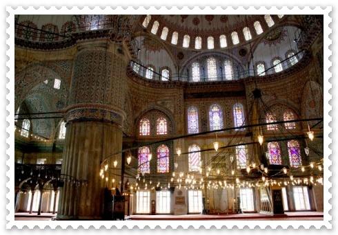 Moscheea Albastra din Istanbul arhitectura