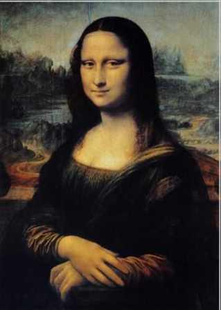 Mona Lisa Gioconda Leonardo da Vinci