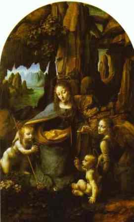 Fecioara intre stanci Leonardo da Vinci